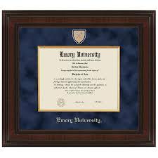 virginia tech diploma frame emory diploma frame excelsior graduation gift