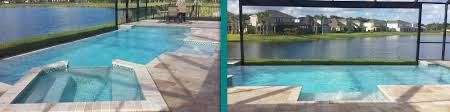 Lagoon Style Pool Designs by Pool Designs Infinity Edge Pools Port Charlotte Fl