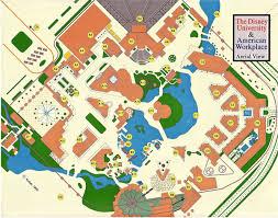 Disney Map Mouseplanet The Disney University U0026 American Workplace Part I