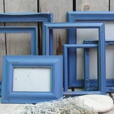 Shabby Chic Blue Paint by Shop Shabby Chic Frame Set On Wanelo