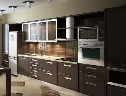 Aluminium Kitchen Designs Aluminum Frame Metal Cabinet Doors Glass Contemporary