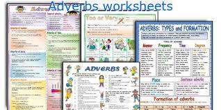 english teaching worksheets adverbs