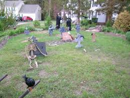 graveyard witch skeleton halloween decorations halloween pictures