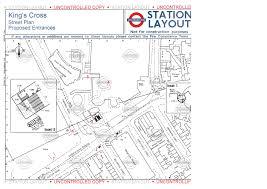 St Pancras Floor Plan Layout Maps Of Kings Cross Tube Station U2013 Ianvisits