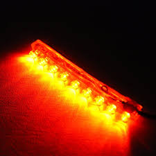 Motorcycle Led Strip Lights by Zitrades Yellow Color Motorcycle Car Boat 9cm 9 Led Neon Accent