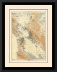 san francisco map framed trulia sf local maps san francisco bay area san