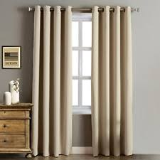 Curtains For Front Doors Wide Thermal Blackout Patio Door Curtain Panel 100w By 84l