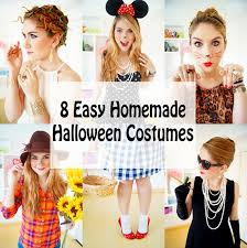 Womens Homemade Halloween Costume Ideas Joy Fashion Halloween 8 Easy Homemade Halloween Costumes