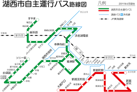 Bus Route Map by File Kosai City Bus Route Map 2011 04 Png Wikimedia Commons