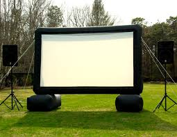 inflatable movie screen rentals in akron canton cleveland