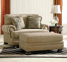 Living Room Chair With Ottoman Oversized Chair Ottoman Etechconsulting Co