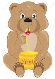 Buy A Keg The Bear Cub Eats Honey From A Keg Royalty Free Cliparts Vectors