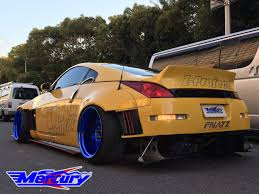 nissan 350z wide body ssworxs genuine japanesse car parts and accessories