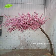 cherry blossom decor gnw bls1507 18 artificial bent cherry blossom tree used in wedding