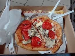 il central cuisine il langos e lo spiedone di pancetta formaggio picture of central