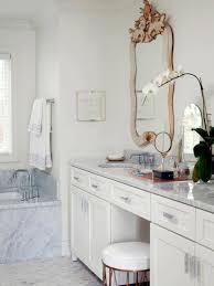 Innovative Bathroom Ideas Concept Bathroom Vanities With Makeup Table Hgtvcom 69966170 To