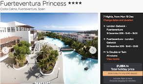 in fuerteventura just 507pp incl flights all