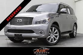 lexus qx56 for sale 2012 infiniti qx56 8 passenger stock 715478 for sale near
