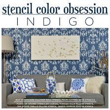 stencils for home decor stencil color obsession indigo stencil stories stencil stories
