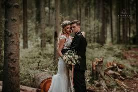 le si e sesja ślubna w lesie x marcin kiszela photography
