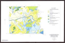 llano map general soil map llano county the portal to history