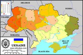 2004 Presidential Election Map by The Orange Revolution In Ukraine