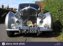 vintage bentley coupe vintage bentley highly polished chrome stock photo royalty free