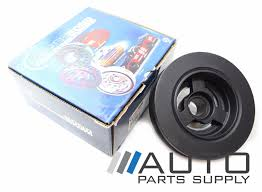 ford au falcon harmonic balancer powerbond suit 4ltr 6cyl 1998 2002