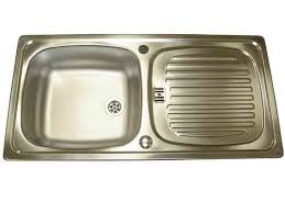 leisure kitchen sink spares leisure euroline stainless steel sink and waste kit caravan