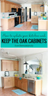 how to modernize honey oak cabinets great ideas to update oak kitchen cabinets
