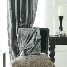 Grey Metallic Curtains Silver Metallic Curtains Metallic Curtain Panels Grey Velvet