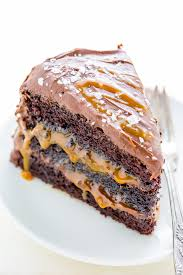 salted caramel chocolate cake baker by nature
