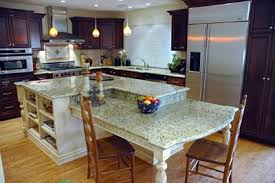 granite top kitchen island with seating kitchen island table with granite top