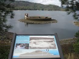 lagoon with round waterfall waterhole gifs