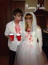 Zombie Bride Groom Halloween Costumes Mammy Zombie Bride Halloween