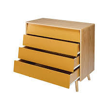 Peinture Jaune Moutarde by Commode 4 Tiroirs Jaune Moutarde