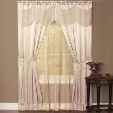 3 Panel Window Curtains Halley 6 Piece Curtain Window In A Bag Curtain U0026 Bath Outlet