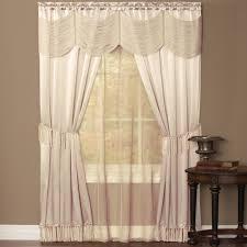halley 6 piece curtain window in a bag curtain u0026 bath outlet