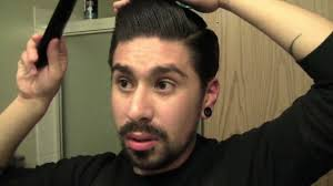 haircuts for guys with curly thick hair pompadour for thick hair youtube