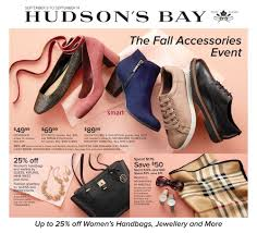 hudson bay s boots hudson s bay flyer september 8 to 14
