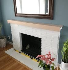 diy fireplace mantel u2013 megan u0027s moments