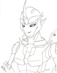 transformers prime arcee coloring pages