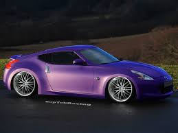 nissan purple nissan 370z by lavnebdesigns on deviantart