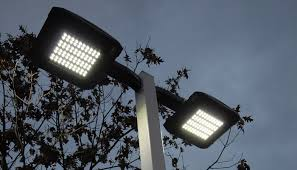 amazing of led outside spotlights commercial outdoor lighting