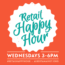retail happy hour every wednesday community cycling center