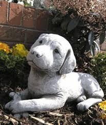 labrador sculpture ornament large garden statue buy now at