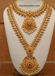 wedding jewellery sets gold 16 best necklace set images on indian jewellery design