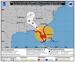 Georgia travel forecast images Hurricane irma on georgia alabama track but winds rain and flood png