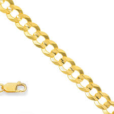 clasp gold necklace images 14k solid yellow gold 5 7 mm cuban curb chain necklace 24 quot lobster gif