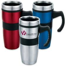 promotional 16 oz the jamaica travel mugs with custom logo for